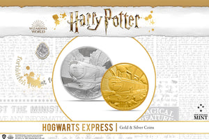 NEW Hogwarts™ Express Limited-Edition Collectible Coins