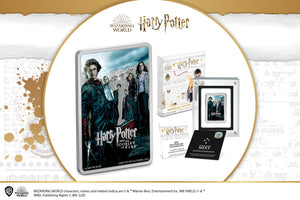 New HARRY POTTER™ Movie Poster Silver Coin!