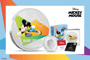 Start your Disney Mickey Mouse Sport Coin Collection!