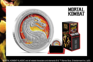 Feel Nostalgic with the Mortal Kombat Klassic Coin
