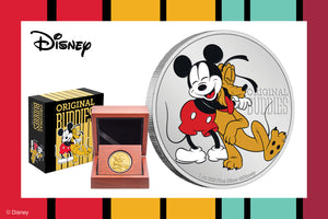 New Coins for Disney's Pluto, Celebrating 90 years!