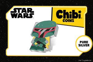 Latest Chibi™ Coin features Feared Bounty Hunter Boba Fett™