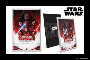 Dramatic Premium Silver Foil for Star Wars: The Last Jedi