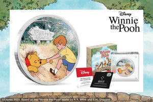 Third Coin in the Disney Winnie the Pooh Coin Collection Released!