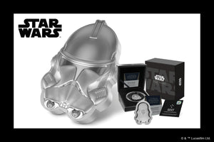 Clone Trooper™ – First 2021 Coin in Star Wars™ Helmets Collection