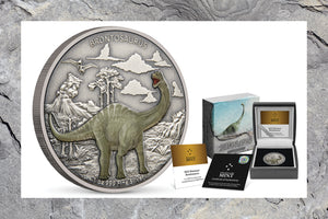 Beloved Brontosaurus Added to Dinosaur Coin Collection