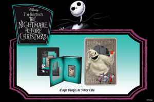 Scare is in the Air with Oogie Boogie from Disney's The Nightmare Before Christmas