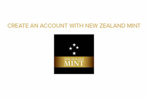 Create an Account with New Zealand Mint