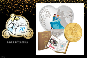 New Coins for Disney's Cinderella, Celebrating 70 years!