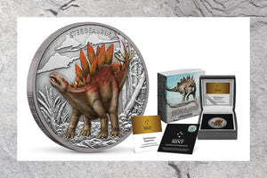Dinosaur Silver Coin Collection Continues!