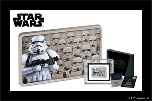 The Empire's Stormtroopers Stun in Pure Silver