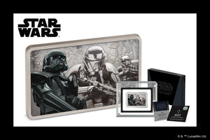 Menacing Death Trooper™ on Pure Silver Collectible Coin