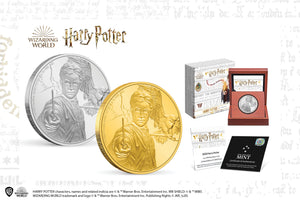 Heroic Harry Potter™ on Three Collectible Coins