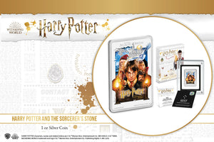 New HARRY POTTER Movie Poster Coin Collection. Let the Magic Begin!