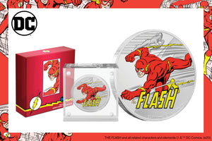 THE FLASH™ on Final JUSTICE LEAGUE™ 60th Anniversary Coin