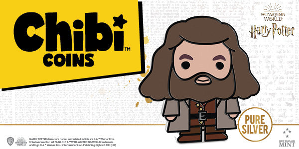 RUBEUS HAGRID™ Pure Silver Chibi™ Coin Revealed! NZ Mint