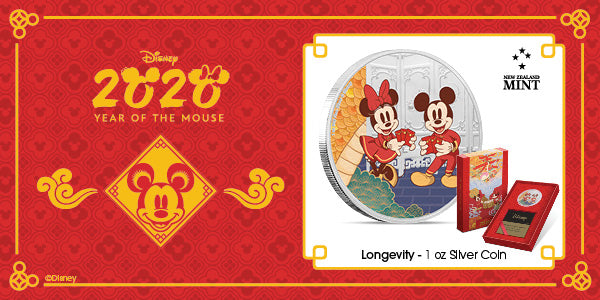 Disney 2020 Year of the Mouse - Longevity available now! | New Zealand Mint