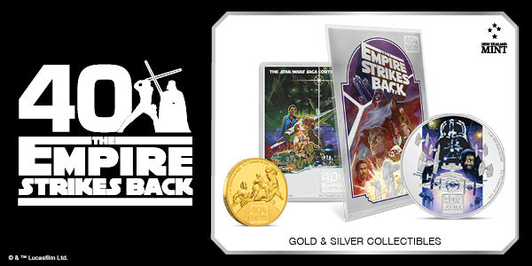 Star Wars: The Empire Strikes Back 40th Anniversary | NZ Mint
