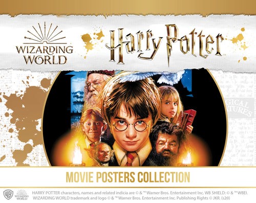 Harry Potter Movie Poster coin collection