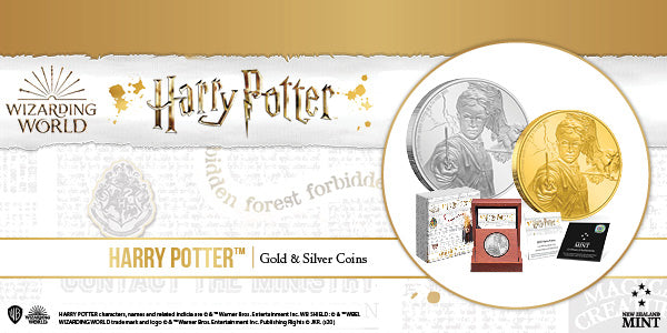 HARRY POTTER™ Classic - Harry Potter™ Silver & Gold Coins