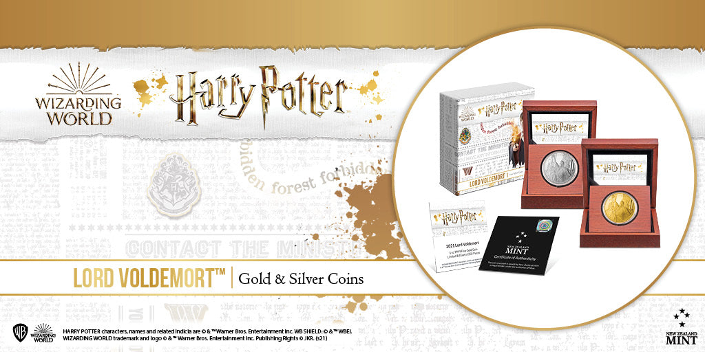 HARRY POTTER™ Classic - Lord Voldemort Coins Available Now!
