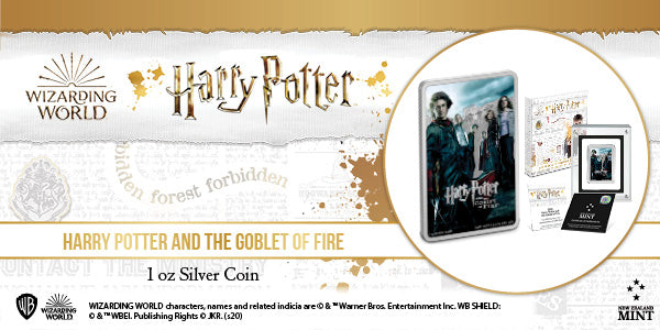 HARRY POTTER™ Movie Poster - Harry Potter and the Goblet of Fire™ 1oz Silver Coin