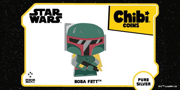Chibi™ Coin Collection Star Wars™ Series – Boba Fett™ 1oz Silver Coin