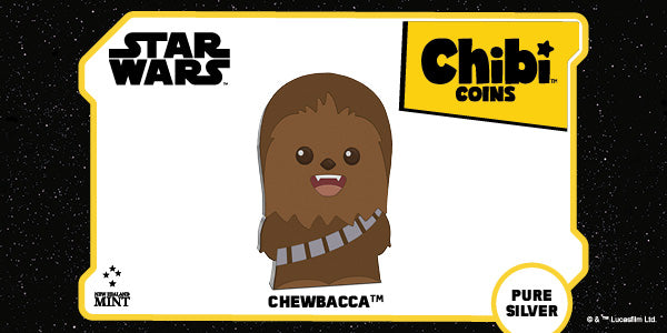 Chibi™ Coin Collection Star Wars™ Series – Chewbacca™ 1oz Silver Coin