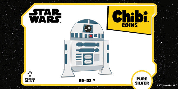 Chibi™ Coin Collection Star Wars™ Series – R2-D2™ 1oz Silver Coin