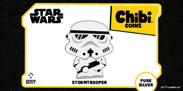 Chibi™ Coin Collection Star Wars™ Series – Stormtrooper 1oz Silver Coin