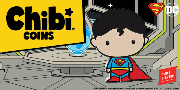 Chibi™ Coin Collection DC Comics Series – SUPERMAN™ 1oz Silver Coin