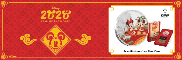 Disney 2020 Year of the Mouse – Good Fortune 1oz Silver Coin