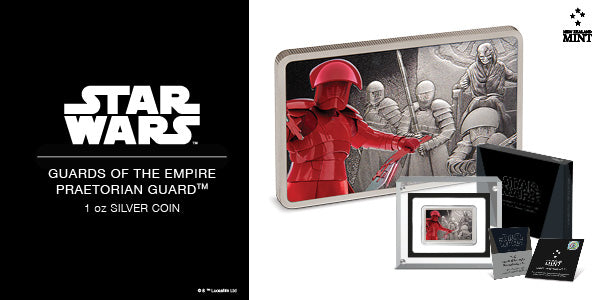 Star Wars: Guards of the Empire - Praetorian Guard™ 1oz Silver Coin