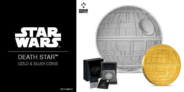 Star Wars™: Death Star™ 1oz Silver & Gold Coins. Available now! | NZ Mint
