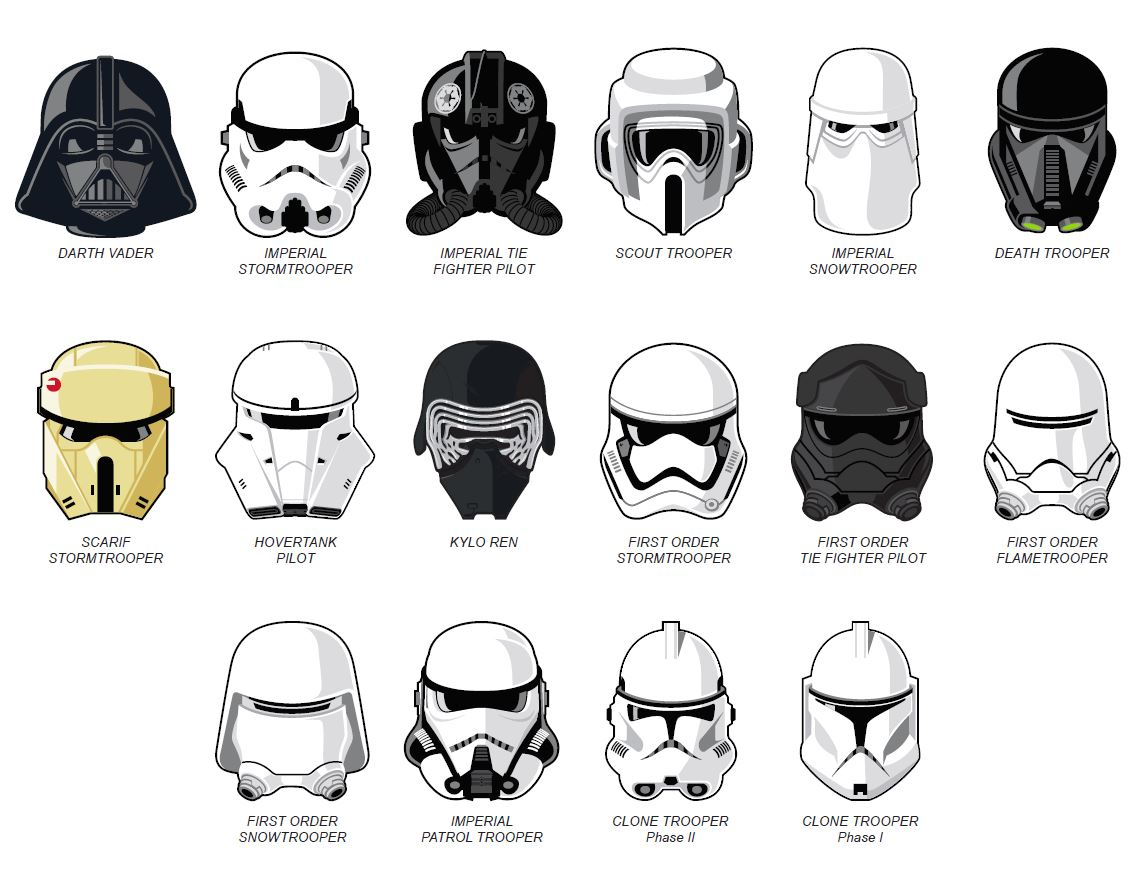 The Star Wars™ Faces of the Empire Collection Begins with Darth Vader!