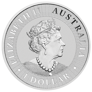 1oz Silver Bullion Coin featuring Queen's effigy - Perth Mint