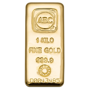 1kg Gold Bar ABC
