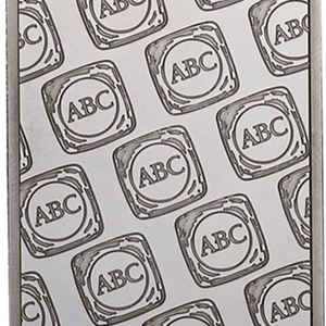 1oz Platinum Minted Bar ABC Obverse