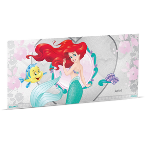 Disney Princess - Ariel 5g Silver Coin Note