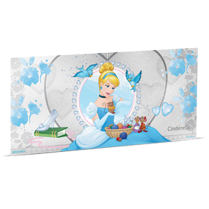 Disney Princess - Cinderella 5g Silver Coin Note