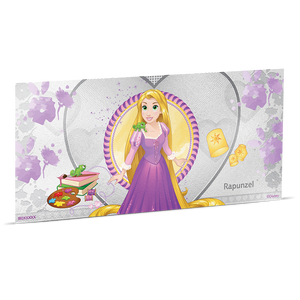 Disney Princess - Rapunzel 5g Silver Coin Note
