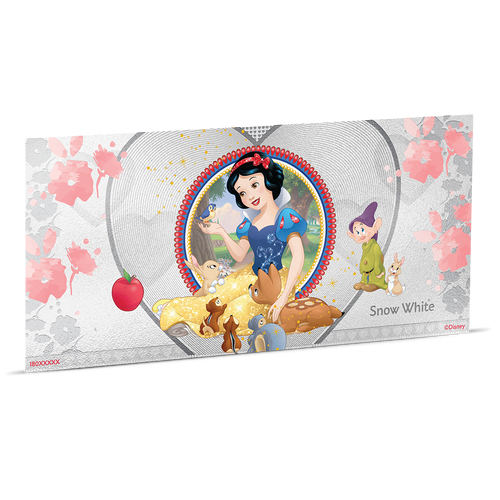 Disney Princess - Snow White 5g Silver Coin Note