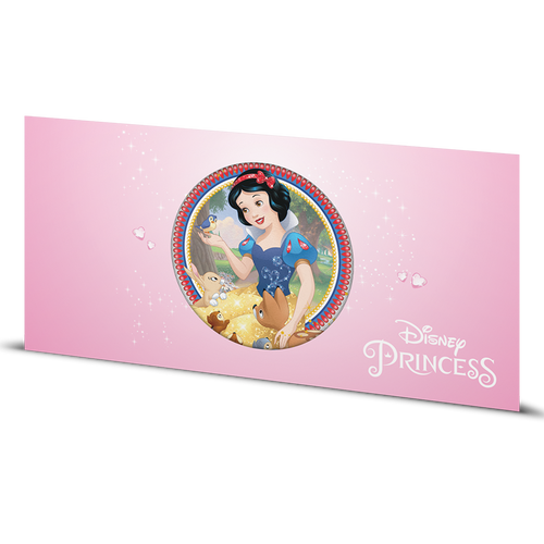Disney Princess - Snow White 5g Silver Coin Note Sleeve