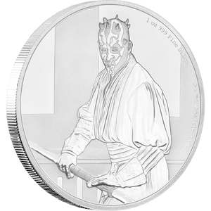 Star Wars Classic: Darth Maul™ 1oz Silver Coin