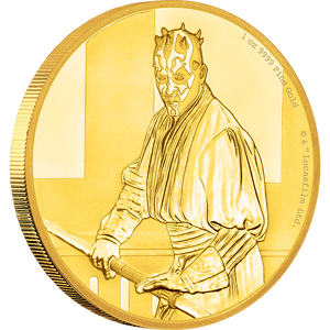 Star Wars Classic: Darth Maul™ 1oz Gold Coin