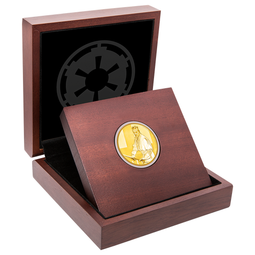 Star Wars Classic: Darth Maul™ 1oz Gold Coin Display