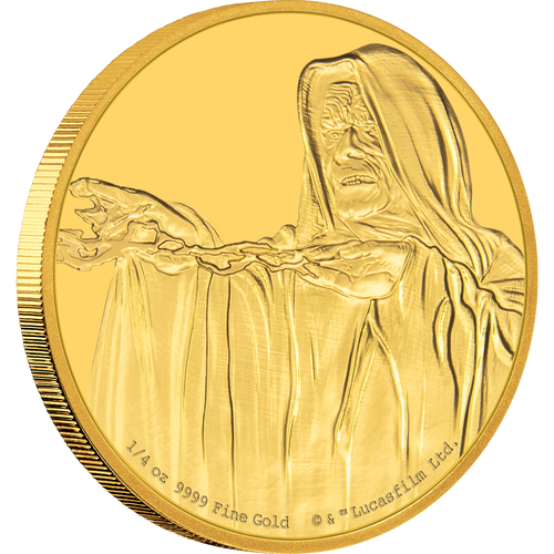 Star Wars Classic: Emperor Palpatine™ 1/4oz Gold Coin