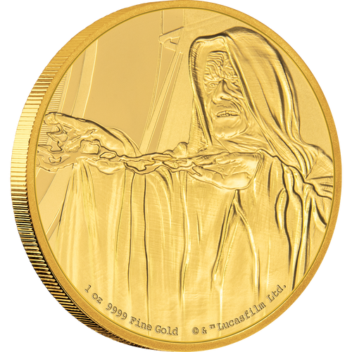 Star Wars Classic: Emperor Palpatine™ 1oz Gold Coin