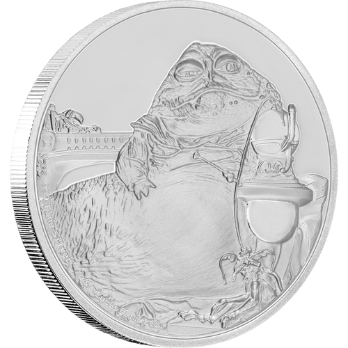Star Wars Classic: Jabba the Hutt™ 1oz Silver Coin
