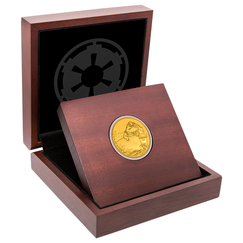 Star Wars Classic: Jabba the Hutt™ 1oz Gold Coin Display